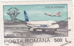 Stamps Romania -  Boeing 737