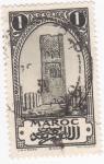 Sellos de Africa - Marruecos -  Mezquita de Rabat