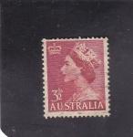 Stamps : Europe : Australia :  Reina Isabel II