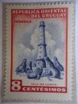 Sellos de America - Uruguay -  Isla de Lobos