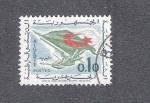 Sellos de Africa - Argelia -  Bandera nacional