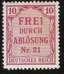 Stamps Germany -  Frei Durch