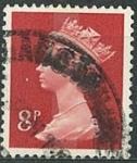 Sellos de Europa - Reino Unido -  Reina Elizabeth 8P