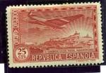 Sellos de Europa - España -  III Congreso de la Union Postal Panamericana. Vista del Oeste de Madrid