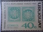 Stamps Uruguay -  Primera Muestra Filatelica Rioplatense - Marzo 1965