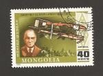 Stamps Mongolia -  Avión De Havilland