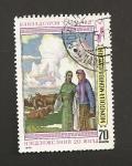 Sellos de Asia - Mongolia -  Campesinas