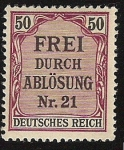Stamps : Europe : Germany :  Frei Durch