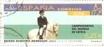 Stamps Spain -  JUEGOS  ECUESTRES  MUNDIALES.  DOMA.