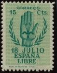 Stamps Spain -  ESPAÑA 851 II ANIVERSARIO DEL ALZAMIENTO NACIONAL