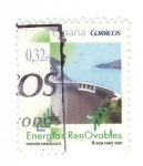 Stamps of the world : Spain :  Energías Renovables.Energia Hidráulica