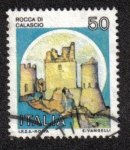 Sellos del Mundo : Europa : Italia : Castillos de Italia