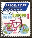 Sellos de Europa - Holanda -  Ciclo Europa (correo urgente).