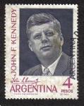 Sellos del Mundo : America : Argentina : John F. Kennedy