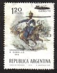Sellos del Mundo : America : Argentina : Día del Ejercito