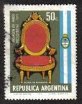 Sellos del Mundo : America : Argentina : Transmisión del Mando Presidencial 1973