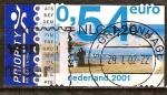 Sellos de Europa - Holanda -  Playa (correo urgente).