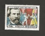Sellos de Asia - Mongolia -  G. Verdi, compositor operas