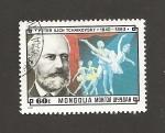 Sellos de Asia - Mongolia -  P. I. Tchaikovsky