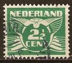 Sellos de Europa - Holanda -  Paloma mensajera.