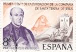 Sellos de Europa - España -  Enrique de Ossso   (8)