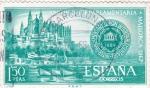 Stamps Spain -  Puerto y catedral de Palma   (8)
