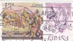 Stamps : Europe : Spain :  Juan de Juani 1507-1577  (8)