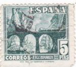 Sellos de Europa - España -  Desfiladero de Pancorbo  (8)