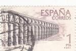 Sellos de Europa - España -  Acueducto de Segovia   (8)