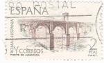 Stamps Spain -  Puente de Alcántara  (8)