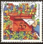 Sellos de Europa - Alemania -  Buzon de correos.