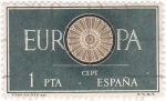 Stamps Spain -  EUROPA CEPT  (8)