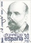 Stamps Spain -  Juan Ramón Jimenez 1881-1958  Poéta  (8)