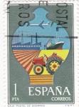 Stamps Spain -  Caja Postal de Ahorros  (8)