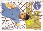 Sellos de Europa - España -  Prevenir las caídas  (8)