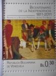 Stamps Venezuela -  Bicentenario de la Independencia 1811-2011- Reunión de la sociedad Patriótica -(Sello 7 de 10)