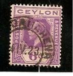 Sellos de Asia - Sri Lanka -  Rey Eduardo VII