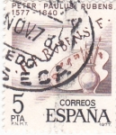 Stamps of the world : Spain :  Peter Paulus Rubens 1577-1640   (8)