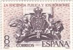 Stamps Spain -  La Hacienda Pública y los Borbones  (8)