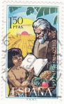 Stamps : Europe : Spain :  San Diego 1769-1969   (8)