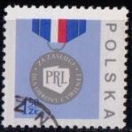 Sellos de Europa - Polonia -  2325 Medalla del mérito a la defensa civil
