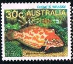 Sellos del Mundo : Oceania : Australia : Pez