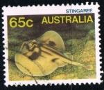 Sellos del Mundo : Oceania : Australia : Pez raya
