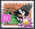 Sellos del Mundo : Oceania : Australia : Mariposa