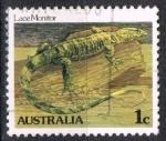 Sellos del Mundo : Oceania : Australia : Lagarto
