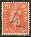 Sellos del Mundo : Europa : Reino_Unido : El Rey Jorge VI.