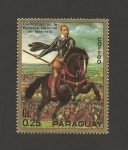 Sellos de America - Paraguay -  Centenario de la Epopeya Nacionañ
