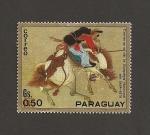 Stamps Paraguay -  Centenario de la Epopeya Nacionañ