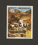 Stamps Paraguay -  Centenario de UPU