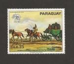 Sellos de America - Paraguay -  Centenario de UPU